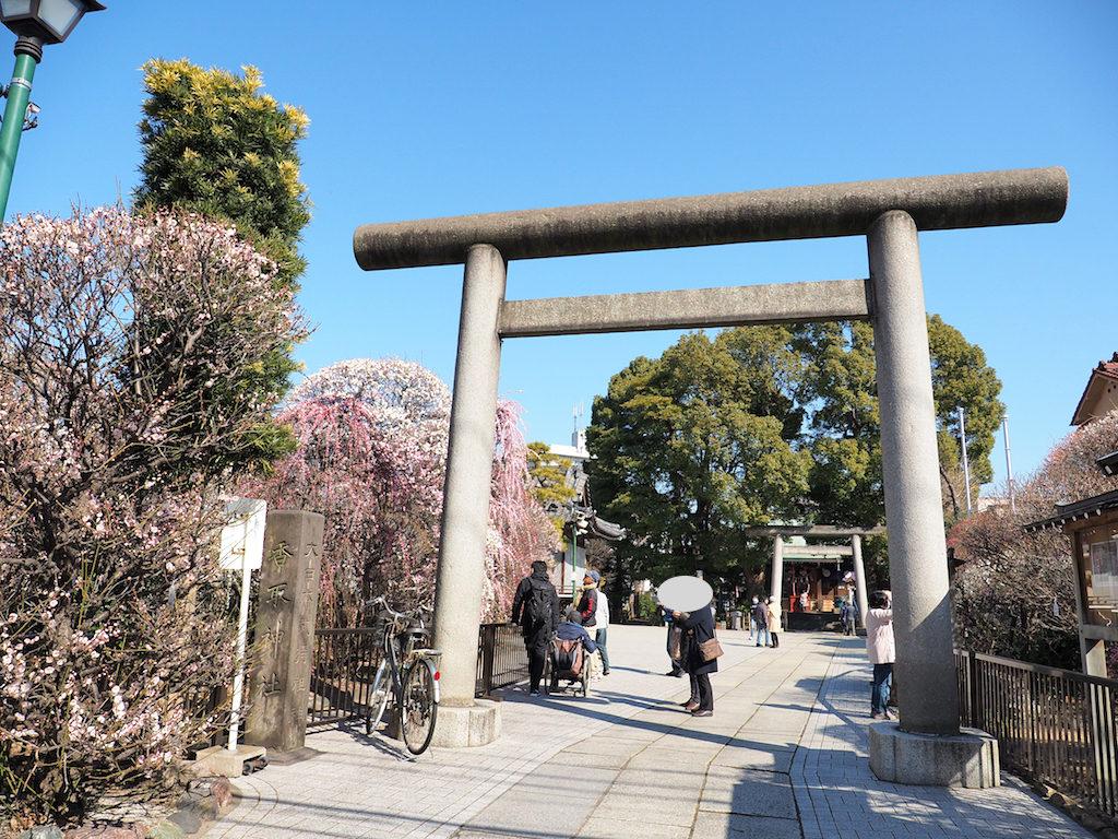 香取神社の入り口