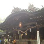 筑波山神社拝殿