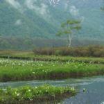 大堀川と景勝山