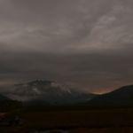 至仏山脇に沈む夕日2