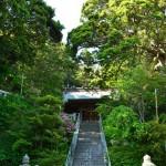 甘縄明神への階段