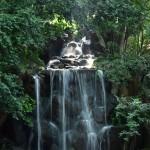 名主の滝公園の、男滝 上流