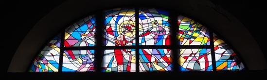 聖エウフェミアSt Euphemia教会のステンドグラス