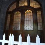 洋館の正面玄関